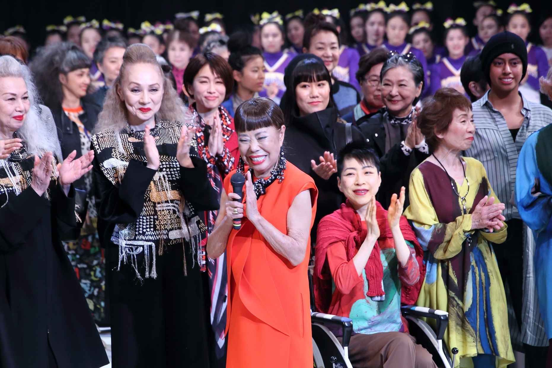 「コシノヒロコ ファッションショー GET YOUR STYLE!」無事、終了しました! 今夜7/2(火)NHKニュースでも紹介いただきます!