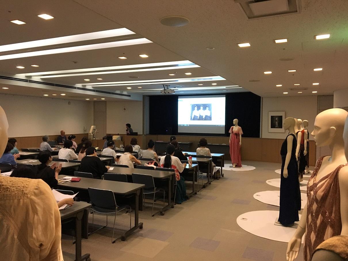 [服飾文化セミナー]7/27(土)2019年度第1回「実物で読み解く キャロ姉妹店の服」開催しました!