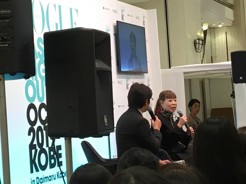 「HIROKO KOSHINO東京コレクション2020SS 」、そして「VOGUE FASHION'S NIGHT OUT 2019 神戸 in 大丸神戸店」が開催されました