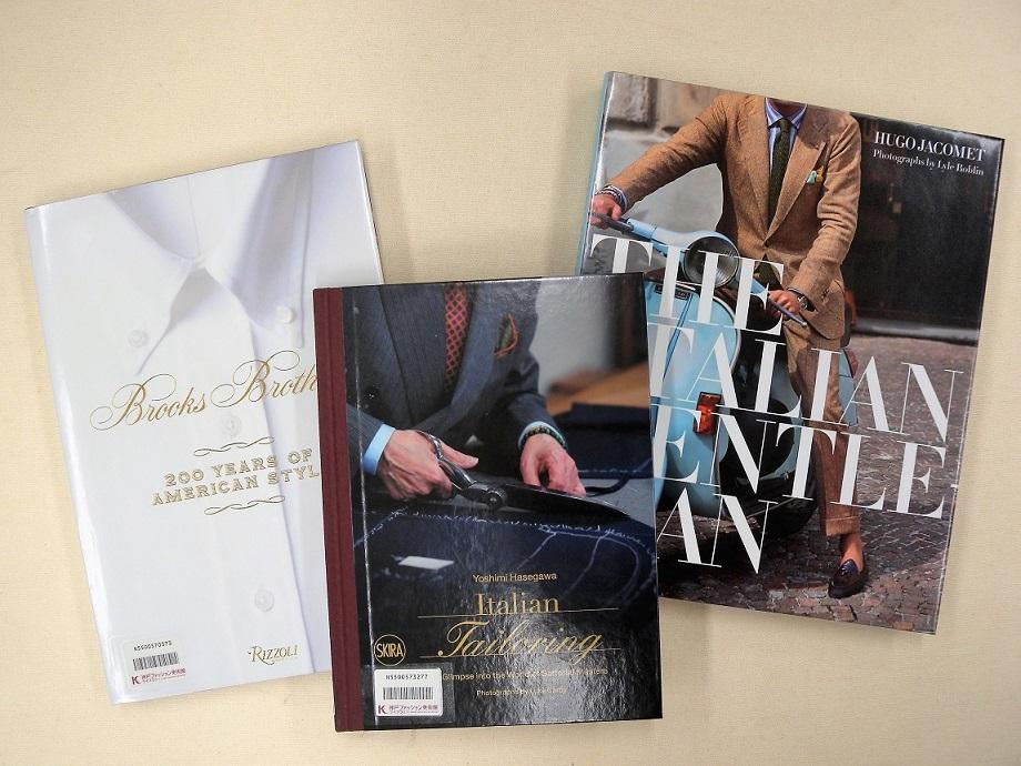 [新着情報] ライブラリーの新着図書は、アメリカで最も歴史のある紳士服ブランド「Brooks Brothers」を取り上げた書籍など、メンズ・ファッションがテーマです。