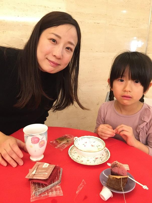 [英國紅茶物語展]きょう18日(土)・あす19日(日)14:00ごろから「テイスティング・カフェ by リトル神戸」オープン。おいしい紅茶をどうぞ!