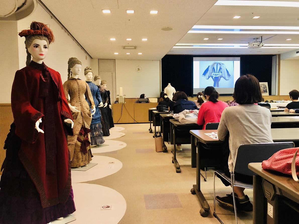 [服飾文化セミナー]7/18(土)第1回「実物で読み解く バスル・スタイルの服」を開催しました