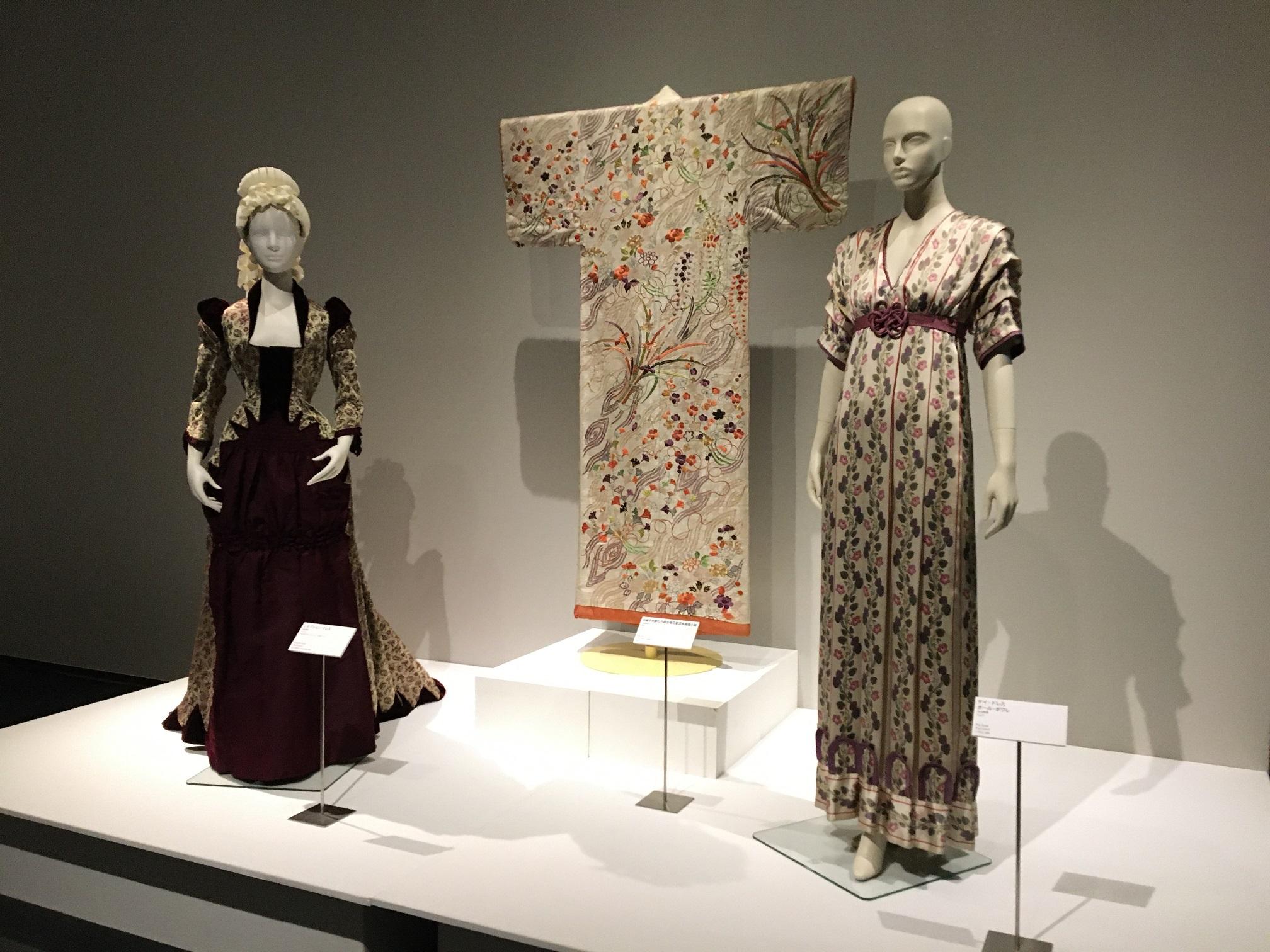 [Treasures of Fashion展] オンラインギャラリートーク④ 第3章「Japan & Western Fashion 日本と西洋のファッション」、ぜひご鑑賞ください