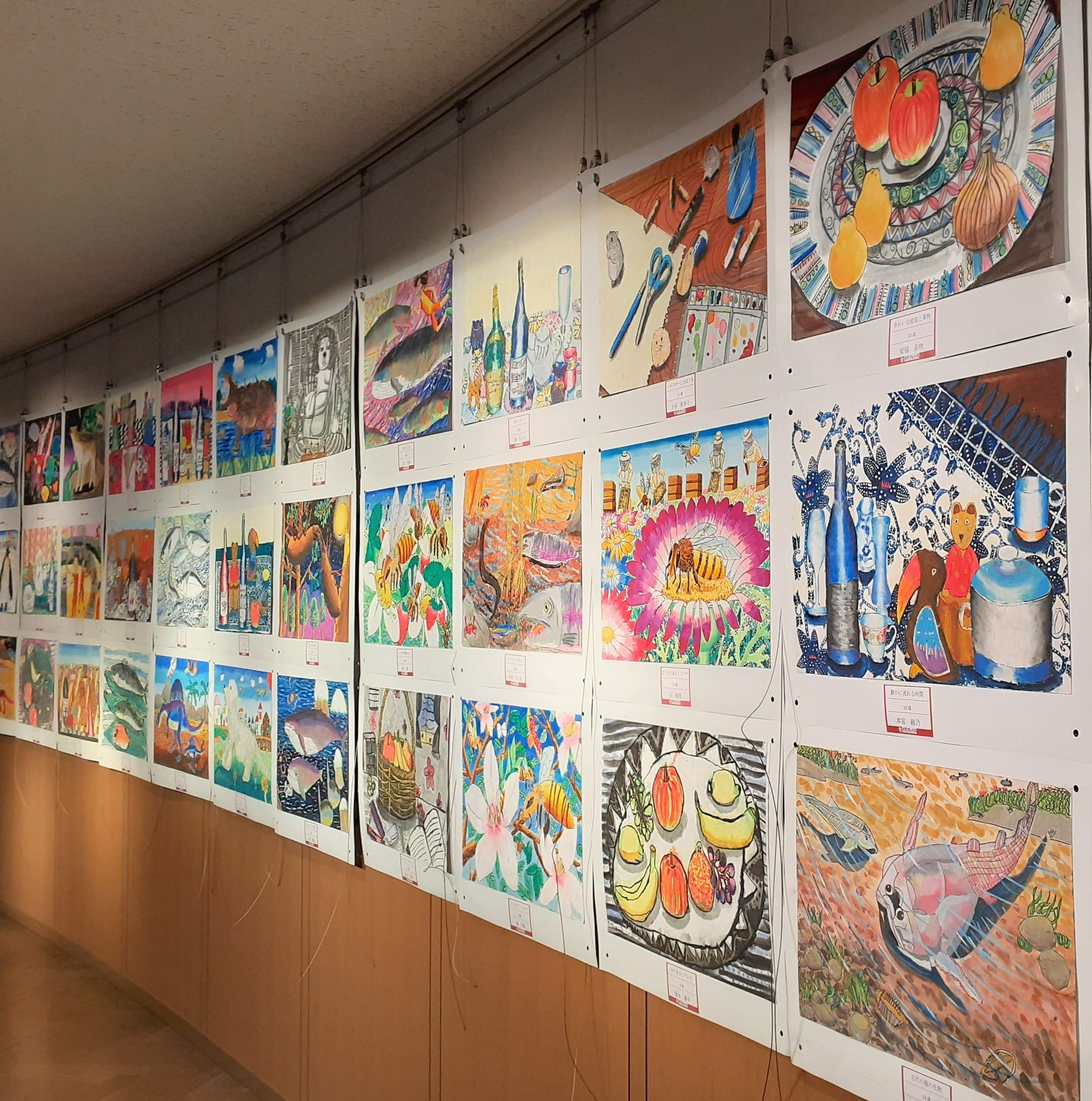 [ギャラリー情報] 3/16(火)~ 28(日)「~アートの力でコロナに負けるな!~アトリエ太陽の子・子ども絵画展」開催!