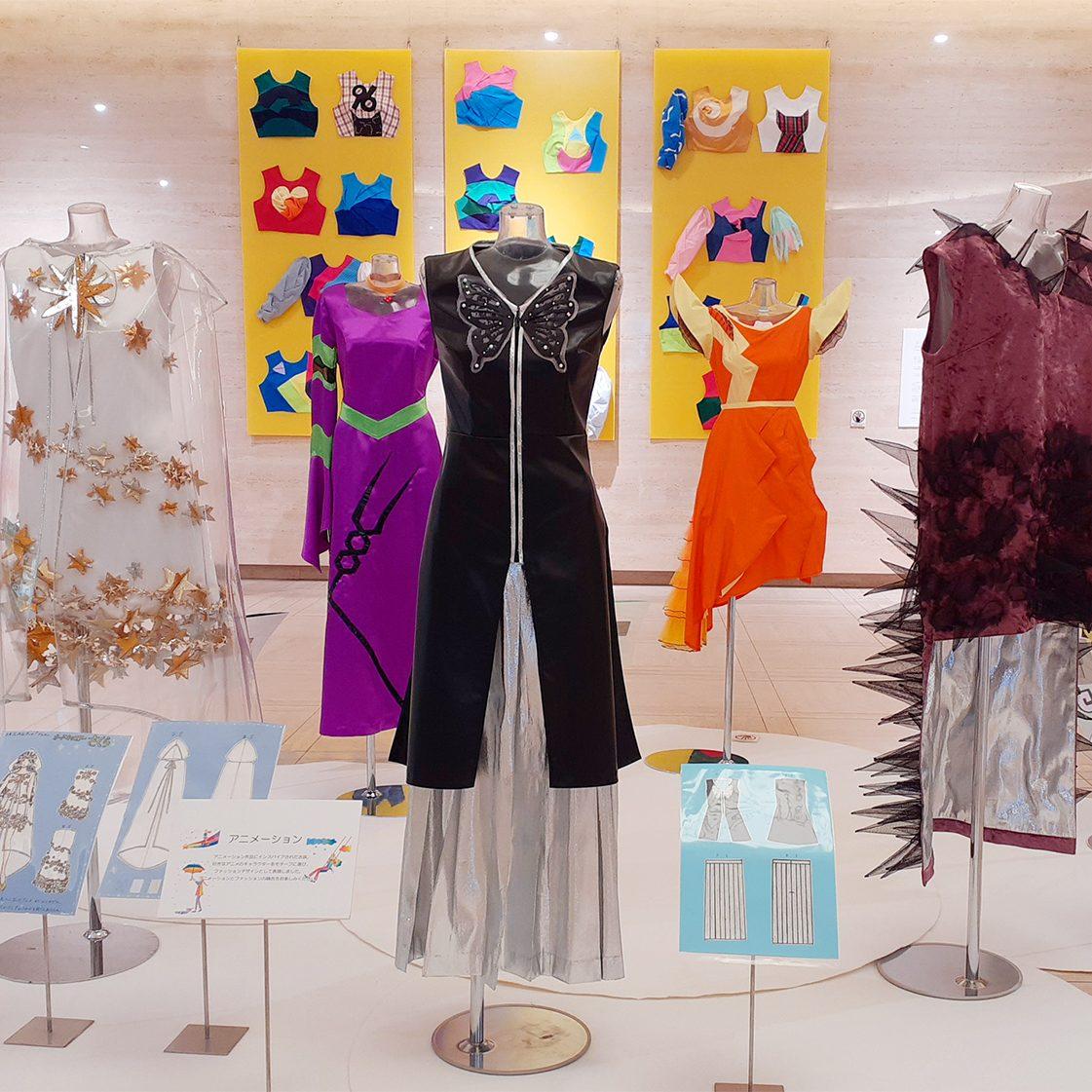 【イベント情報】神戸文化服装学院作品展「エンターテイメント~私たちのこころを楽しませてくれるもの~」開催中!