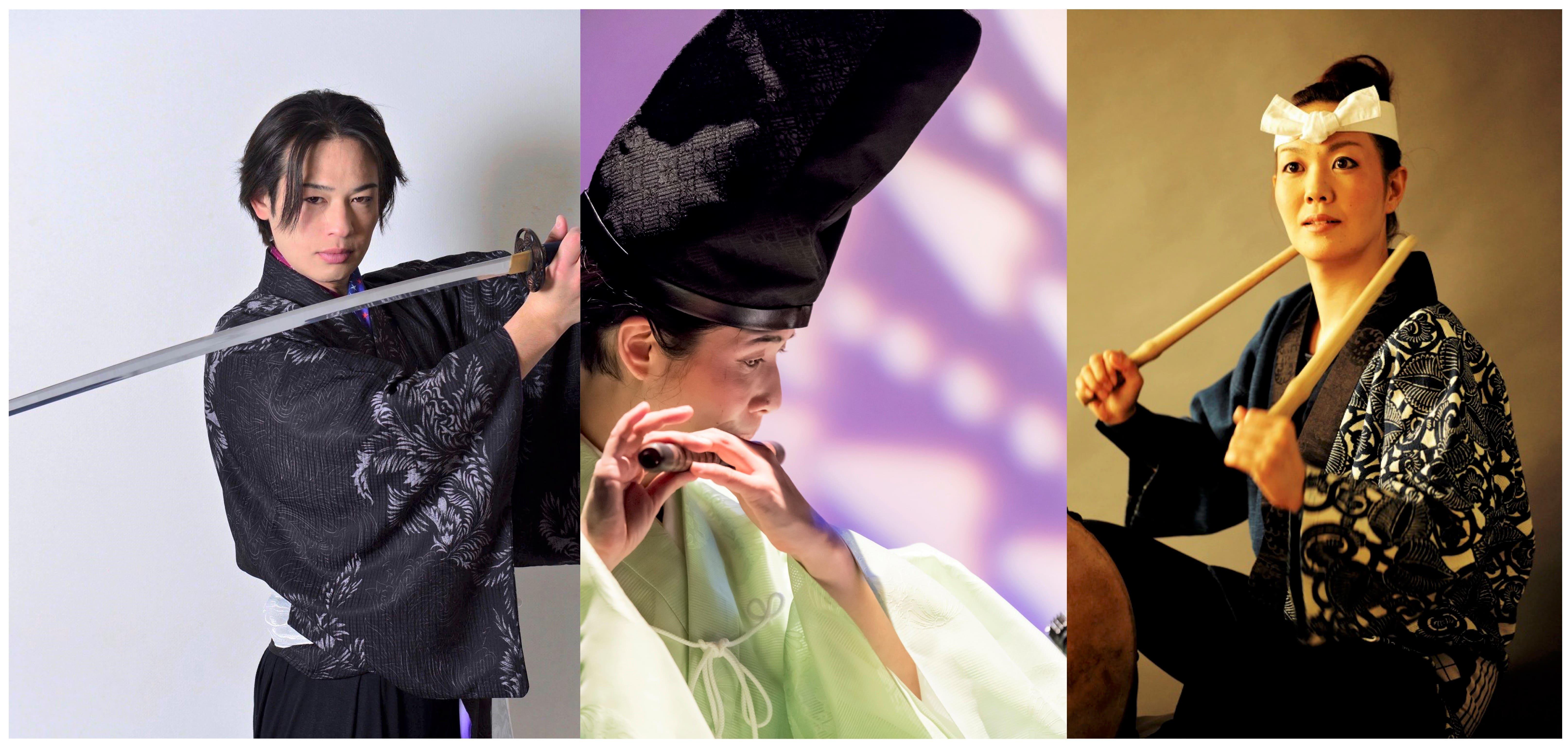 【オルビスホール情報】7/31(土)「剣舞・笛・和太鼓 こころとからだのための和文化体験ワークショップ」開催!