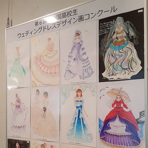 【ギャラリー情報】 神戸ファッション専門学校主催「全国高校生デザイン画コンクール」優秀作品展、8/20(金)まで開催!