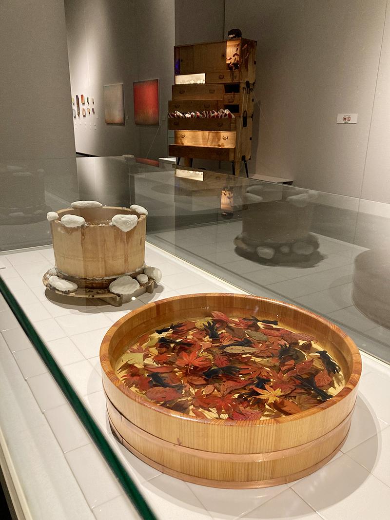 サンテレビのニュースで 深堀隆介展「金魚鉢、地球鉢」が紹介されました!